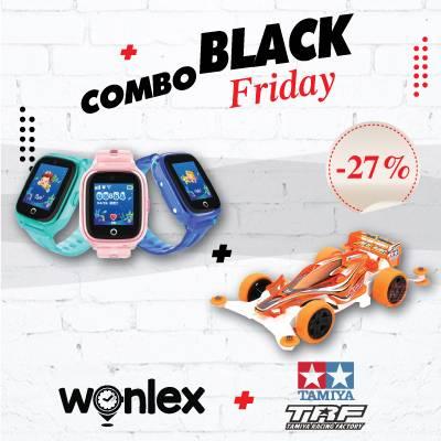"Black Friday Combo "" Wonlex KT01 + Xe Đua Tamiya """