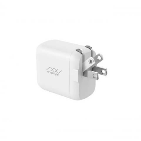 Adapter Innostyle Minigo Pro Dual PD/QC3.0 18W (IP18-2PD)