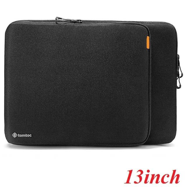Túi Tomtoc (USA) 360° Protection Premium Macbook Pro/Air 13'' - Black (H13-C02D)