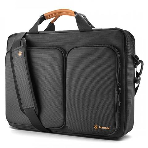 Túi Tomtoc (USA) Travel Briefcase For Ultrabook 15'' - Black (A49-E01D)