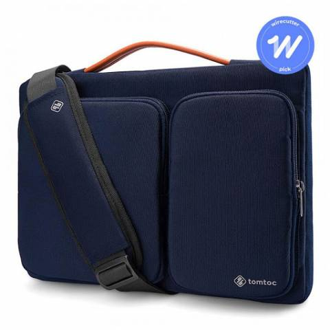 Túi Đeo TOMTOC (USA) 360* Shoulder Bags MacBook Pro 13'' - Dark Blue (A42-C01B01)