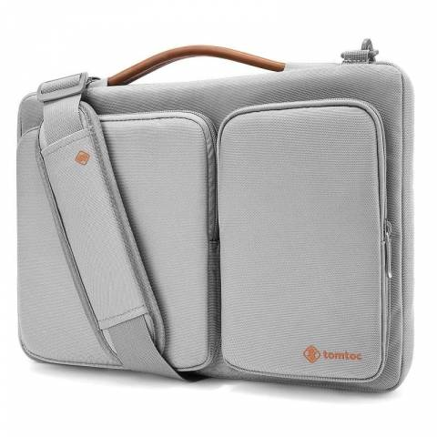 Túi TOMTOC (USA) 360* Shoulder Bags MacBook Pro 13'' - Silver (A42-C02S)