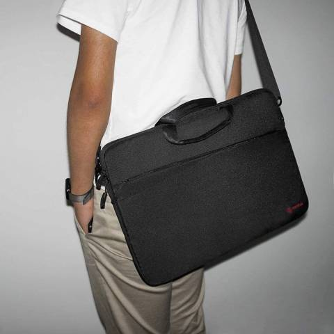 Túi Tomtoc (USA) Messenger Bags Macbook 13'' - Black (A45-C01D)