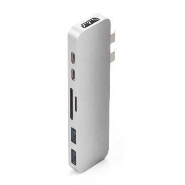 """Cổng Chuyển HyperDrive DUAL USB-C Hub For MacBook Pro 13''15"""" 2016/2017/2018 (GN28B)"""
