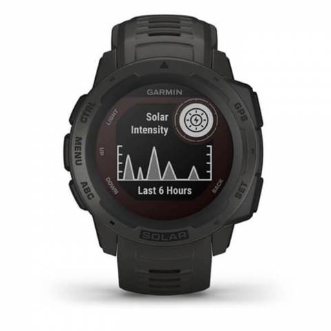 Đồng Hồ Garmin Instinct Solar, GPS Watch, Graphite, SEA (010-02293-32)