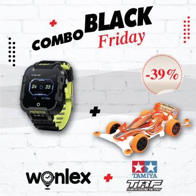 "Black Friday Combo "" Wonlex KT12 + Xe Đua Tamiya """