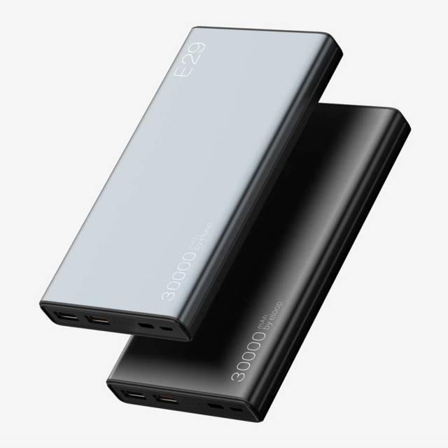 Pin Dự Phòng Eloop E29 Chính Hãng, 30.000mAh, USB-C, QC2.0 & 3.0