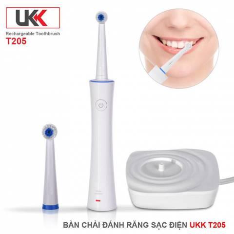 Bàn chải đánh răng điện UKK T205 Chính Hãng