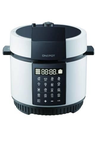 Nồi cơm điện áp suất đa năng ONEPOT màu trắng