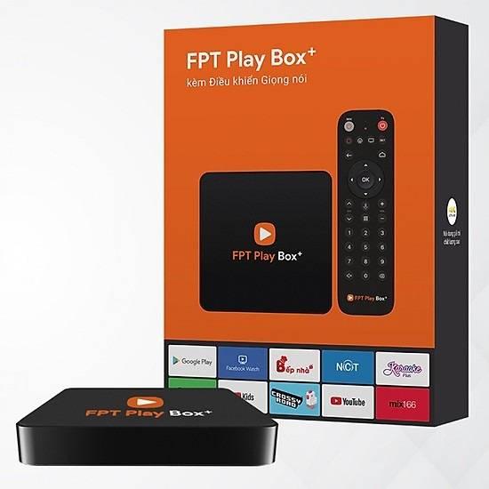 FPT Play Box 4K 2019 Điều Khiển Bằng Giọng Nói
