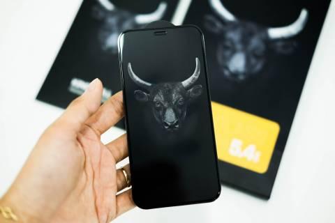 Kính Cường Lực Mipow Kingbull Premium HD (2.7D) Iphone 12 / 12Pro / 12Promax (Full Viền Đen)