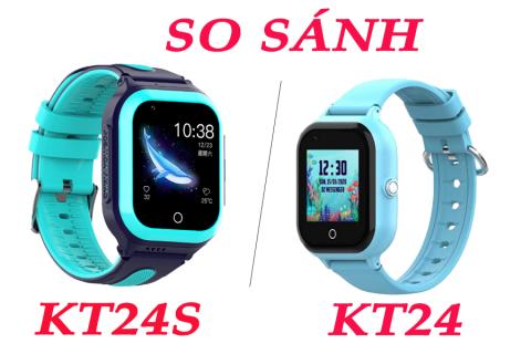 So sánh đồng hồ định vị mới nhất Wonlex KT24 và Wonlex KT24S