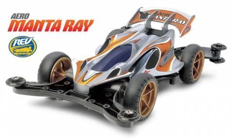 Xe Đua Lắp Ráp Tamiya Mini 4WD Aero Manta Ray (AR)