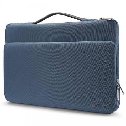 "Túi Xách Chống Sốc Tomtoc (USA) Briefcase Macbook Pro 13"" - Blue (A14-B02B01)"