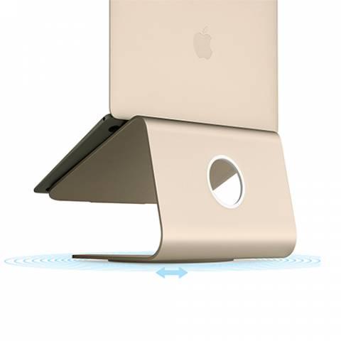 Đế Tản Nhiệt Rain Design (USA) MStand Laptop 360 - Gold (10073)