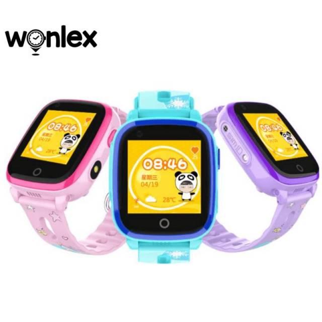 Đồng hồ định vị trẻ em Wonlex KT10 , hỗ trợ camera, gọi video call, kháng nước IP67