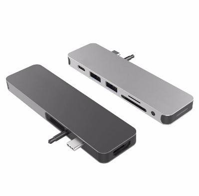 Cổng chuyển HyperDrive SOLO 7-in-1 USB-C Hub (GN21D) for MacBook, PC & Devices