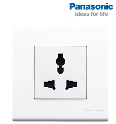 Ổ cắm đa năng vuông Panasonic