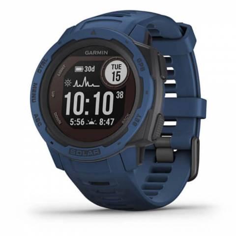 Đồng Hồ  Garmin Instinct Solar, GPS Watch, Tidal Blue, SEA (010-02293-36)