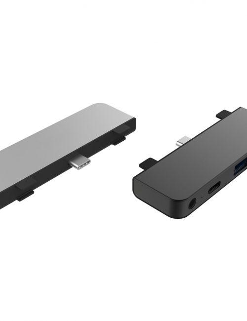 Cổng Chuyển Chuyên Dụng Hyperdrive Ipad Pro/Macbook 4 in 1 HDMI 4K/30HZ USB-C Hub
