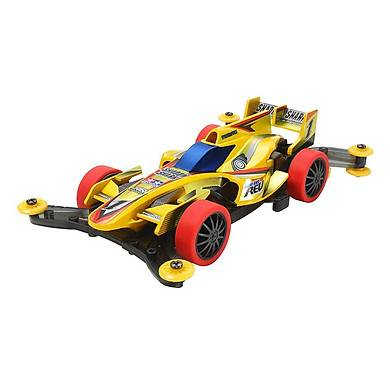 Xe Đua Lắp Ráp Tamiya Mini 4WD Shadow Shark Yellow SP