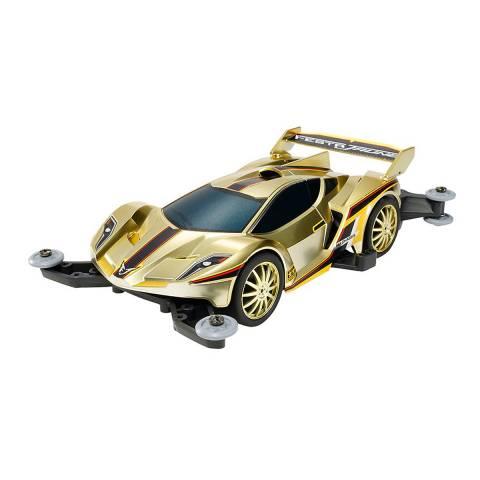 Xe Đua Lắp Ráp Tamiya Mini 4WD Festa Jaune Gold Met