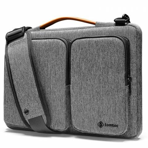 Túi Đeo TomToc (USA) 360* Shoulder Bags MacBook Pro 13'' New/ MacBook Air13'' 2019 Gray- A42-C02G