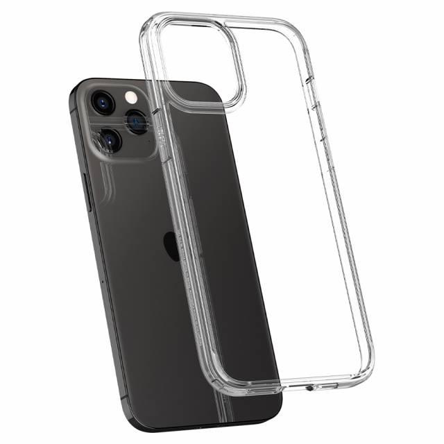 Ốp  Lưng Spigen iPhone 12 Pro Max (6.7 inch) Crystal Hybrid