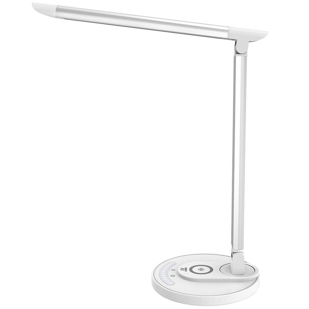 Đèn Bàn Taotronics LED 12W Tích Hợp Sạc Nhanh Không Dây (TT-DL043) Chính Hãng