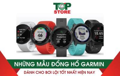 Những mẫu đồng hồ Garmin dành cho bơi lội tốt nhất hiện nay