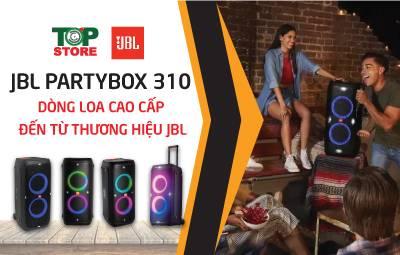 JBL Partybox 310 - Dòng loa cao cấp đến từ thương hiệu JBL
