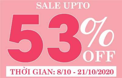 Topstore sale sốc chào mừng ngày Phụ nữ Việt Nam đến 53%