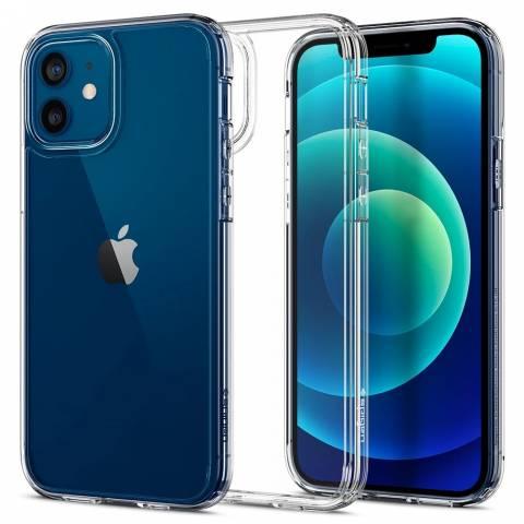 Ốp Lưng Spigen iPhone 12 Pro/12  (6.1 inch) Crystal Hybrid Crystal Clear
