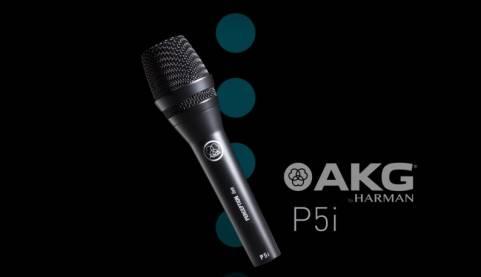 Micro Karaoke Có Dây AKG P5i Chính Hãng