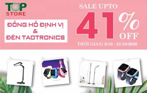 [Sale 41% Đèn led chống cận và Đồng hồ định vị] Sale ngày Phụ nữ VN - Giá sập sàn