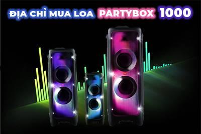 Địa chỉ bán loa JBL Partybox 1000 chất lượng chính hãng tại TP.HCM