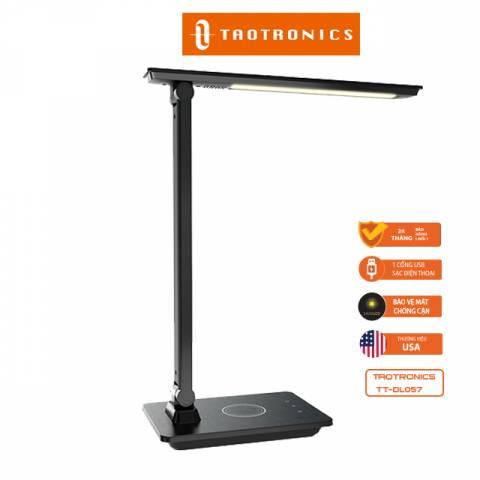 Đèn LED Chống Cận Kiêm Sạc Không Dây Taotronics TT-DL057 Chính Hãng