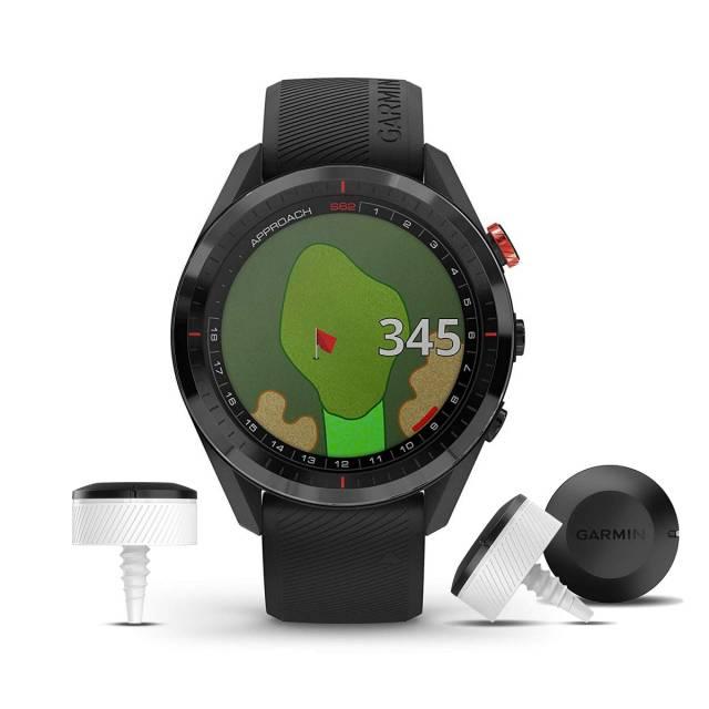 Đồng Hồ Garmin Approach S62 Premium With CT10 Bundle, Golf GPS
