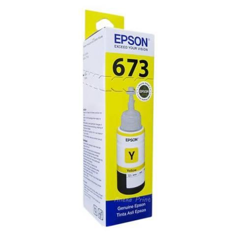 Mực In Epson T673400 Yellow Ink Cartridge (T673400)- Chính Hãng