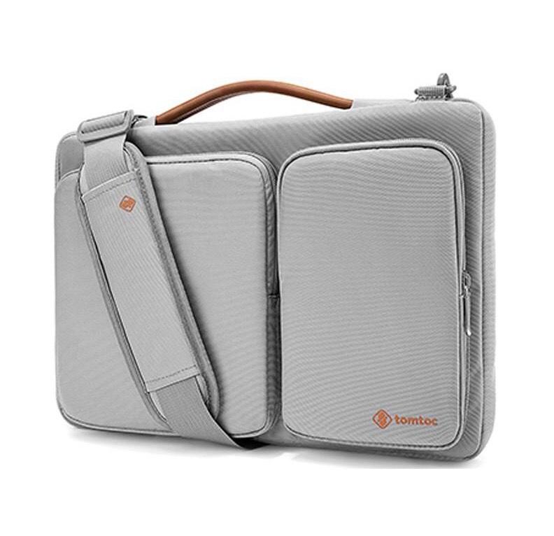 TÚI ĐEO TOMTOC (USA) 360* SHOULDER BAGS MACBOOK 13-A42C02S