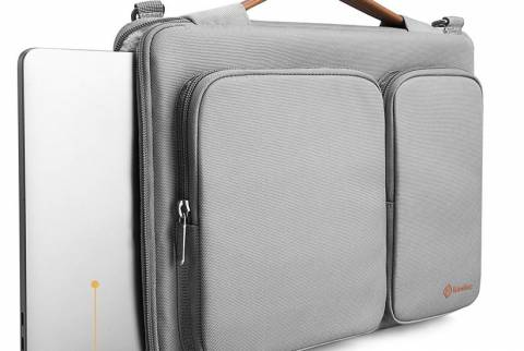 "Túi Đeo Tomtoc (USA) 360* Shoulder Bags Macbook 15"" (A42-E02S)"