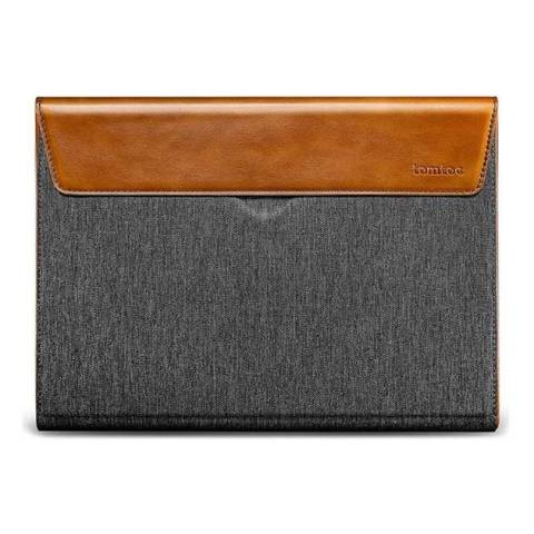 Túi Tomtoc (USA) Premium Leather For Macbook Pro 15″ - Gray (H15-E02Y)