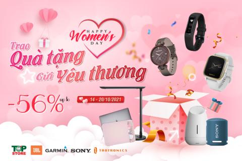 Chúc mừng ngày Phụ nữ Việt Nam - Siêu Sale, Siêu Quà