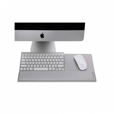 Rain Design (USA) mRest Wrist Rest & Mouse Pad - Silver (10013)