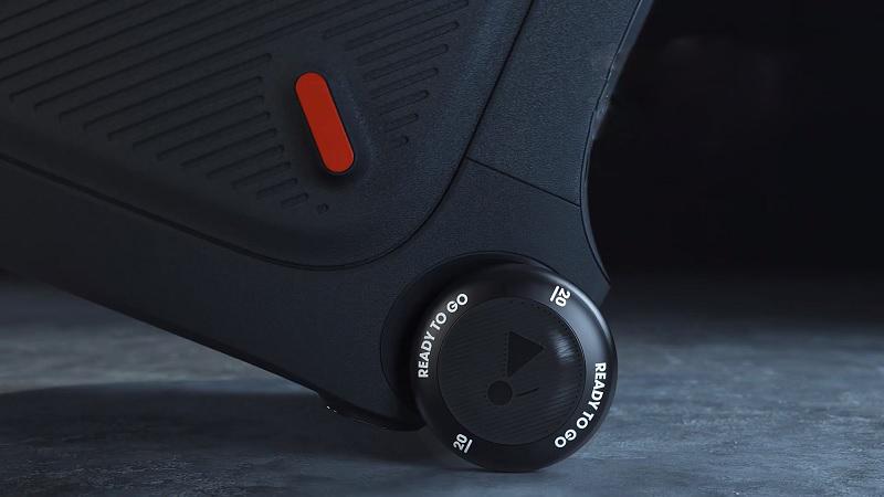 Thiết kế tay kéo và bánh xe thông minh