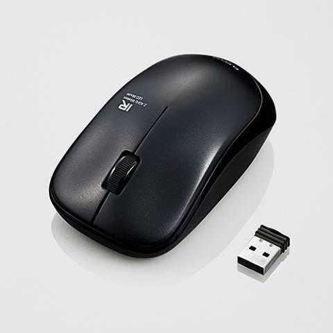 Chuột không dây, yên tĩnh ELECOM M-IR07DRS