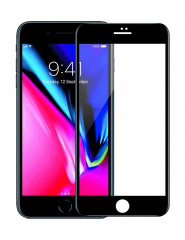 MIẾNG DÁN CƯỜNG LỰC MIPOW KINGBULL 3D FOR IPHONE 8/8PLUS - BLACK/ WHITE (BJ12)
