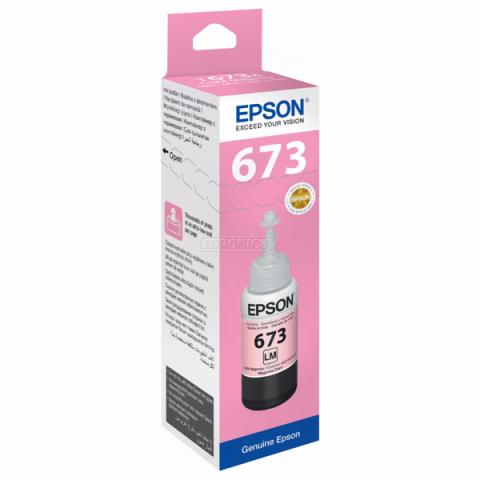 Mực In Epson T673600 Light Magenta Ink Cartridge (T673600)- Chính Hãng