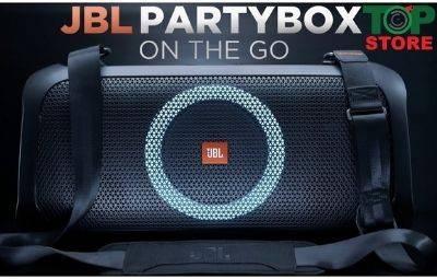 Lý do nên mua Loa JBL Partybox On The Go cho ngày Tết quẩy hết mình