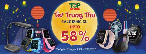 Vui Tết Trung thu - Sale đúng gu - Upto 58%